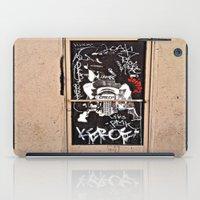 Grafitti Door - Creep iPad Case