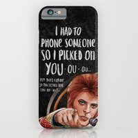 I Had To Phone Someone So I Picked On You iPhone 6 Slim Case