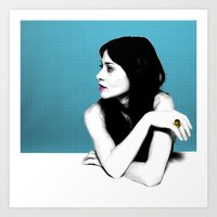 FIONA APPLE IDLER WHEEL Art Print