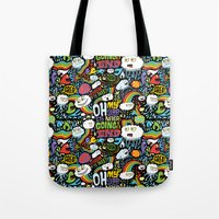 Rainbow In The Dark Tote Bag