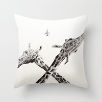 MiG 22 Flogger-B  Throw Pillow