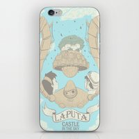 Laputa Castle In The Sky iPhone & iPod Skin