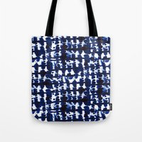 Parallel Indigo Tote Bag