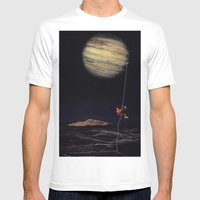 Jupiter Climber Mens Fitted Tee White SMALL