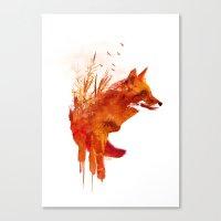 Plattensee Fox Canvas Print