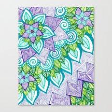 Sharpie Doodle 6 Canvas Print