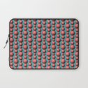 Bead Pattern, Coral & Turqoise Laptop Sleeve