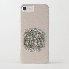 - blue orange green - iPhone 7 Slim Case