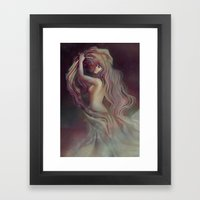Who Hangs the Stars at Night? Framed Art Print