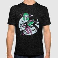 The Vampire Queen Mens Fitted Tee Tri-Black SMALL