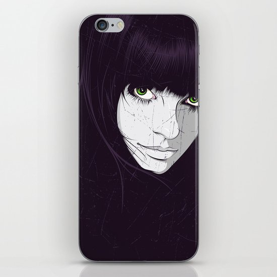 Green Eyes iPhone & iPod Skin