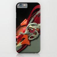 3d graffiti - 'Bright iPhone 6 Slim Case