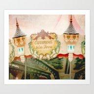 Jules Verne Carousel Art… Art Print