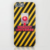 Reboot Universe Button iPhone 6 Slim Case