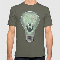 Think Martian  Mens Fitted Tee Lieutenant SMALL