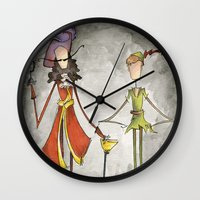 Pan & Hook Wall Clock