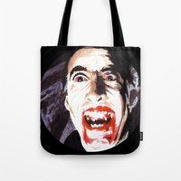 The Horror Of Dracula Tote Bag