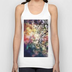 the Tree of Many Colors Unisex Tank Top