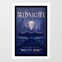 Midnight Art Print