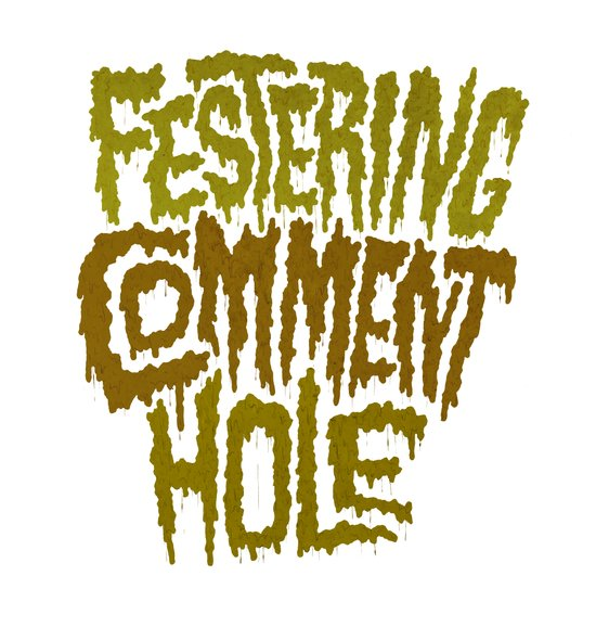 Festering Comment Hole Canvas Print
