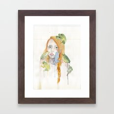 Exodus and the Frog Prince Portrait  Framed Art Print