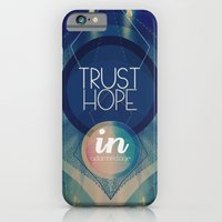 Trust hope in a damned age iPhone 6 Slim Case