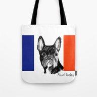 French Bulldog. The Tota… Tote Bag