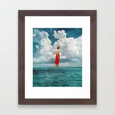 CURRENTS Framed Art Print