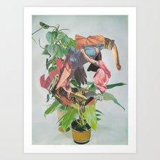Pflanze 1 Art Print