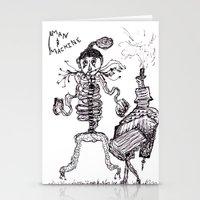 Man & Machine Stationery Cards