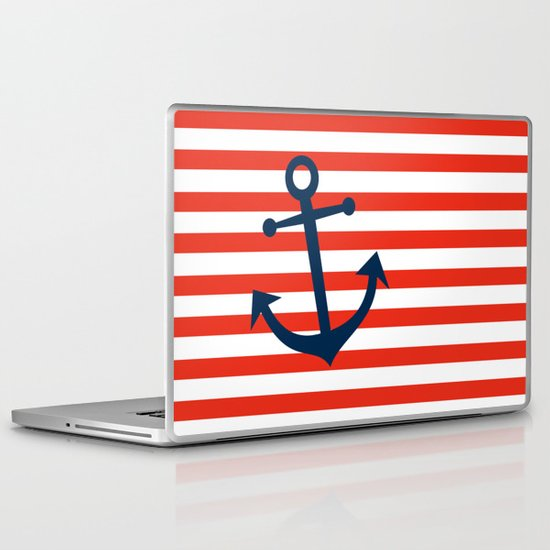 Nautical Anchor Laptop & iPad Skin