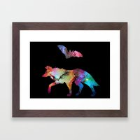 Animal Connection Framed Art Print