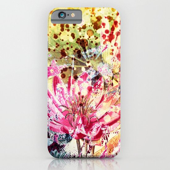 waterlily iPhone & iPod Case