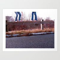 I Get By With A Little H… Art Print