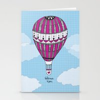 Hot Air Balloon, Spanish Stationery Cards