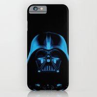 iPhone & iPod Case featuring The Dark Vader, Star Wars Tribute by Catalin Anastase
