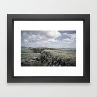 Faded Memories: Steel Rigg Framed Art Print