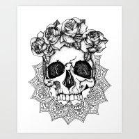 Crown The Dead Art Print