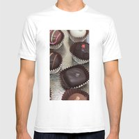 Truffles Mens Fitted Tee White SMALL