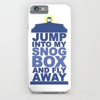 Snog Box (Tardis) iPhone 6 Slim Case