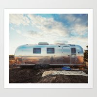 Airstream Art Print