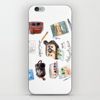 Document Your Adventures iPhone & iPod Skin
