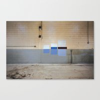 Wall Swatches Canvas Print