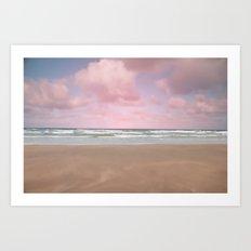 Vintage Ocean Art Print