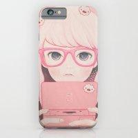 iPhone Cases featuring 「Gamegirl Girl」  by kaoru hasegawa