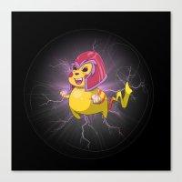 Electro Magneto Canvas Print