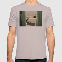 Caleb. Mens Fitted Tee Cinder SMALL
