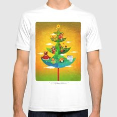A Very Filipino Christmas Mens Fitted Tee White SMALL