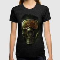 Spores Womens Fitted Tee Tri-Black SMALL