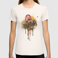 Of Madness Womens Fitted Tee Natural SMALL